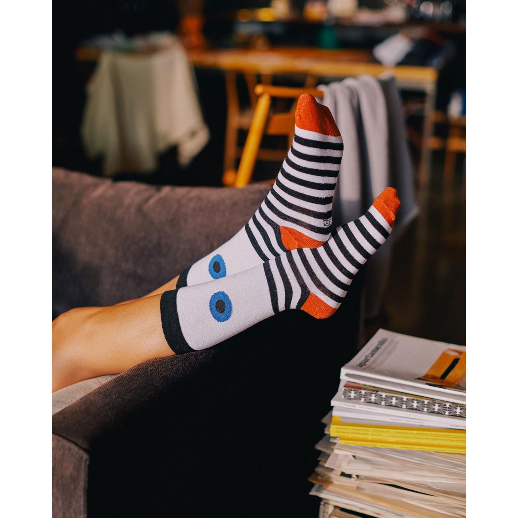 Blue Eye Socks