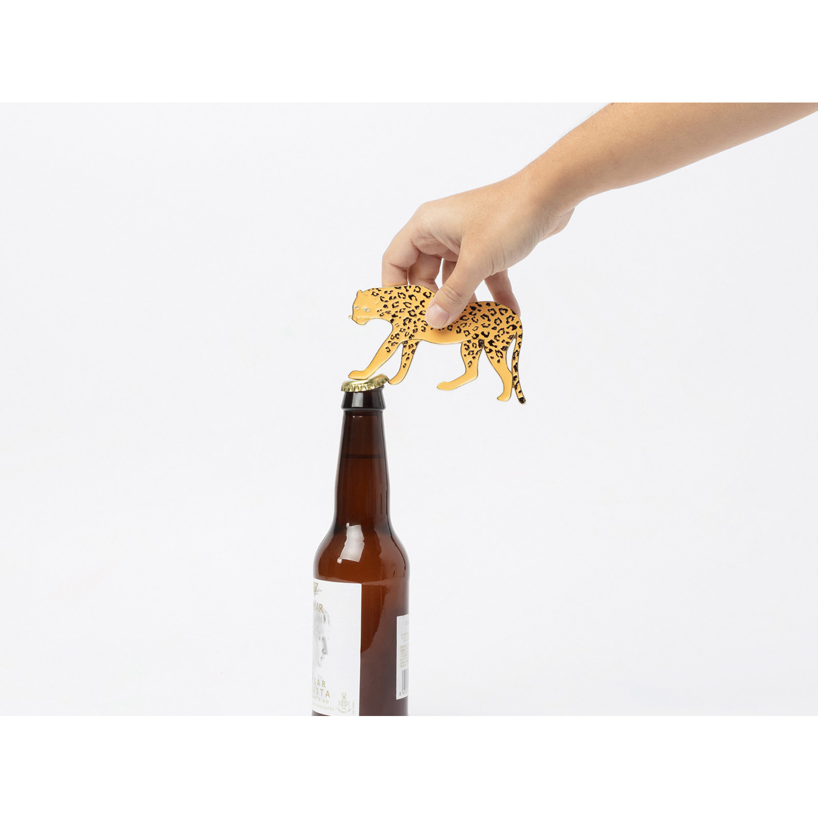 Leopard Bottle Opener