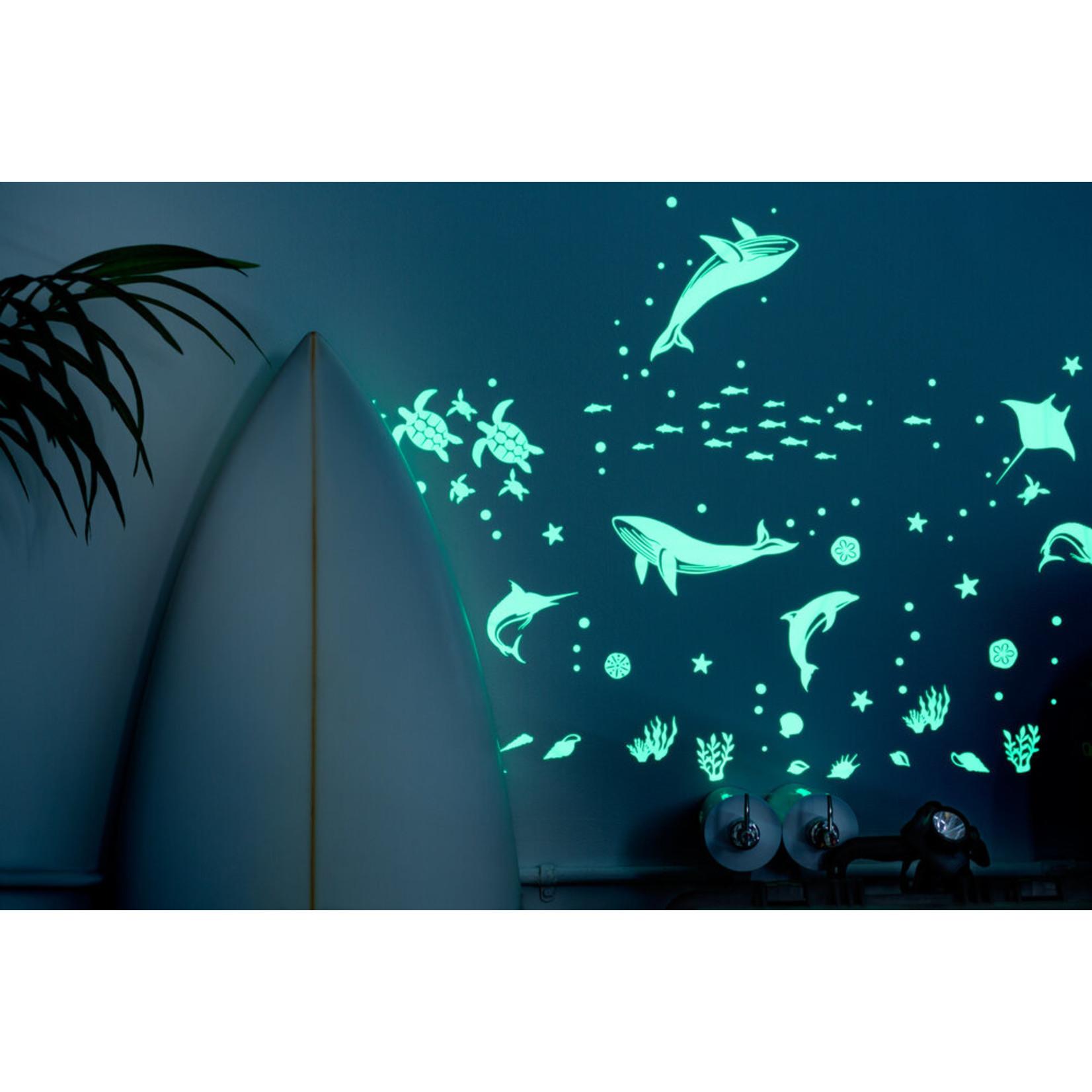 Sea Animal Glowing Stickers