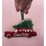 Station Wagon Ornament : Cobble Hill