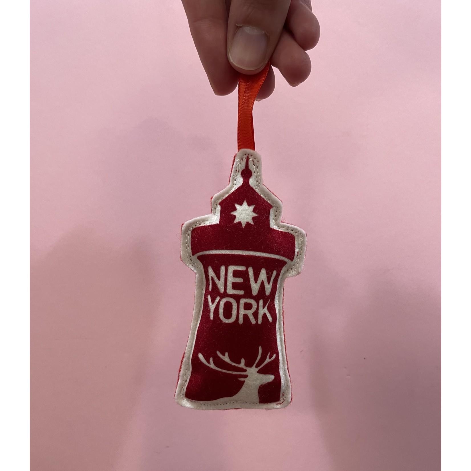 Lighthouse Ornament : New York