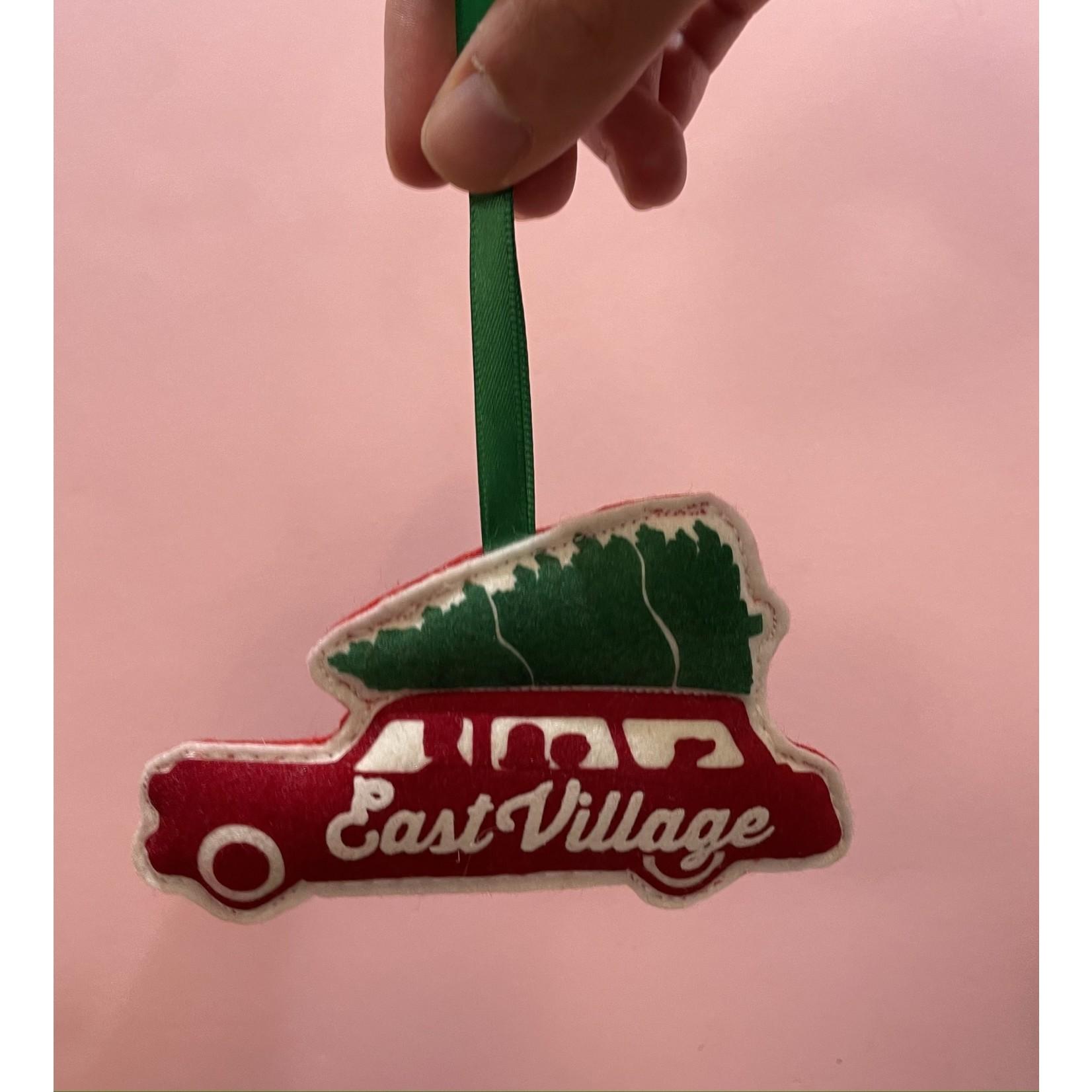 Station Wagon Ornament : East Village