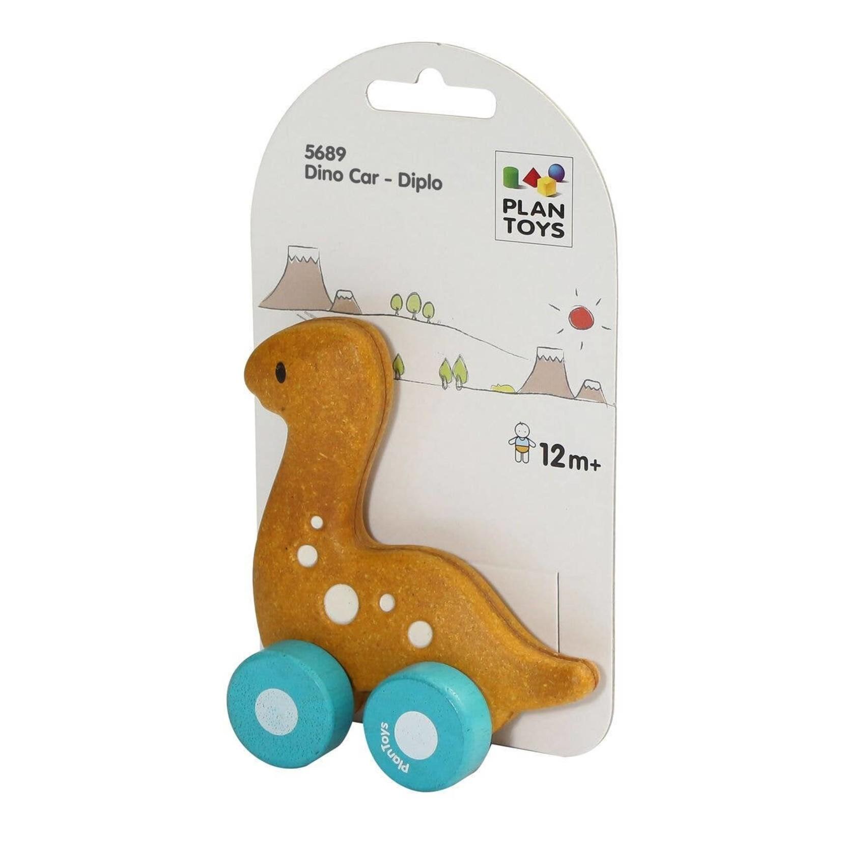 Plan Toys Diplo Dino Car