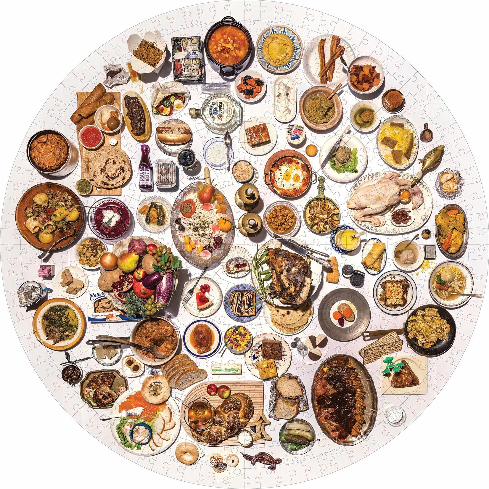Workman Publishing 100 Most Jewish Foods Puzzle