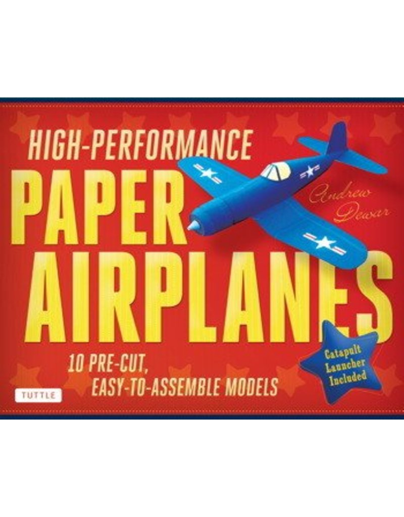 Simon and Schuster High Performance Paper Airplanes