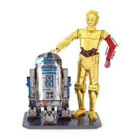 Fascinations Star Wars Metal Earth R2D2 C-3PO Set