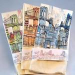 Brooklyn Bell Tower Brooklyn Landscape Tea Towel