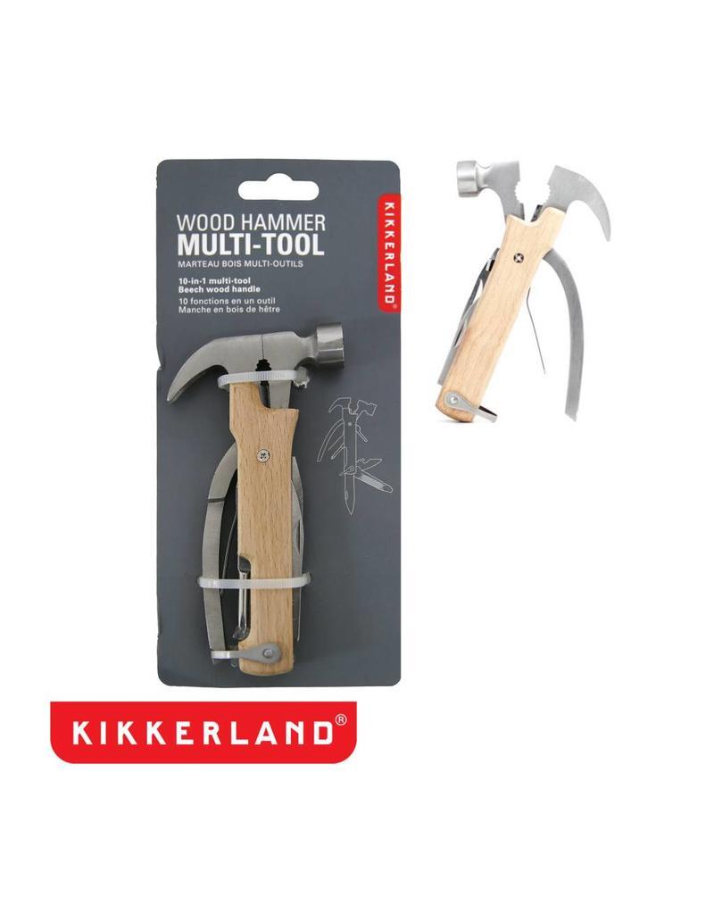 Kikkerland Wood Hammer Multi Tool