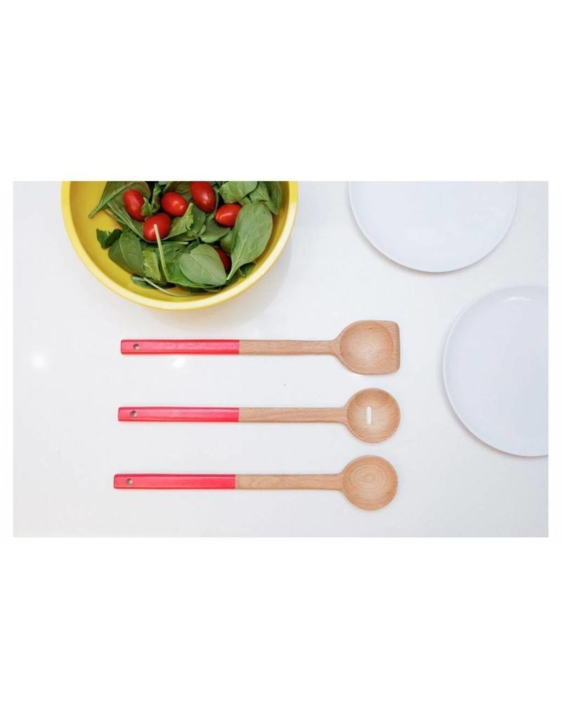 Kikkerland Wood Spoon Set