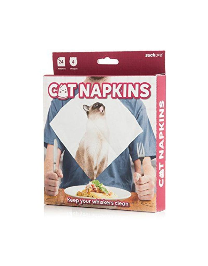 Suck UK Cat Napkins Pack of 24