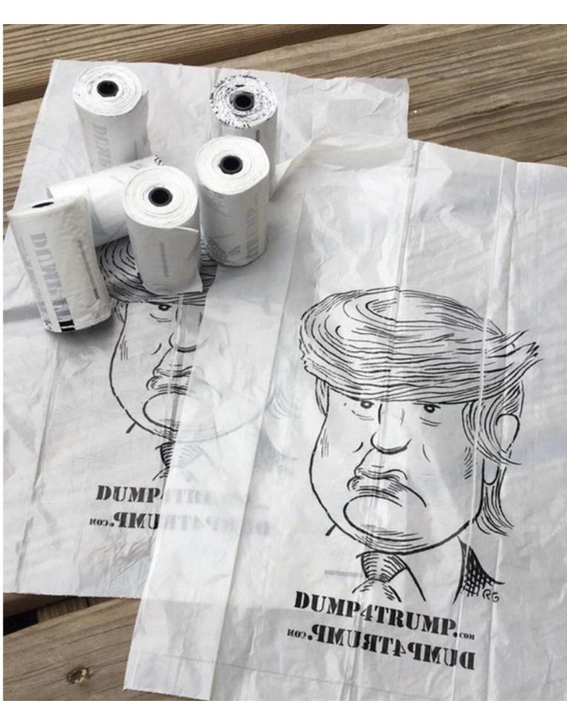 School For The Dogs Donald Trump Dog Poop Bags