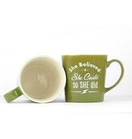 Meriwether Mug - She Believed She could