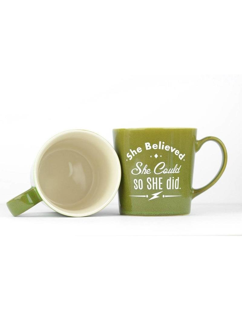 Meriwether Mug - She Believed She could