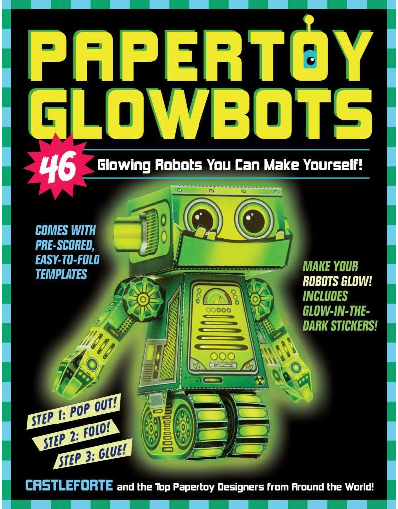 Workman Publishing Paper Toy Glowbots