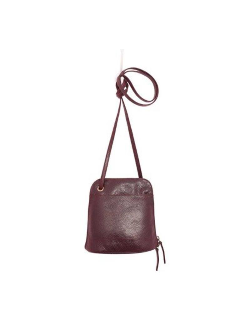 Latico Leathers Lilly Bag in Burgundy