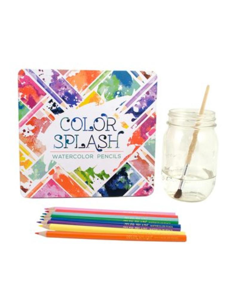 OOLY Color Splash Watercolor Pencils