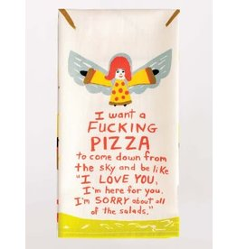 Blue Q F*cking Pizza Dish Towel
