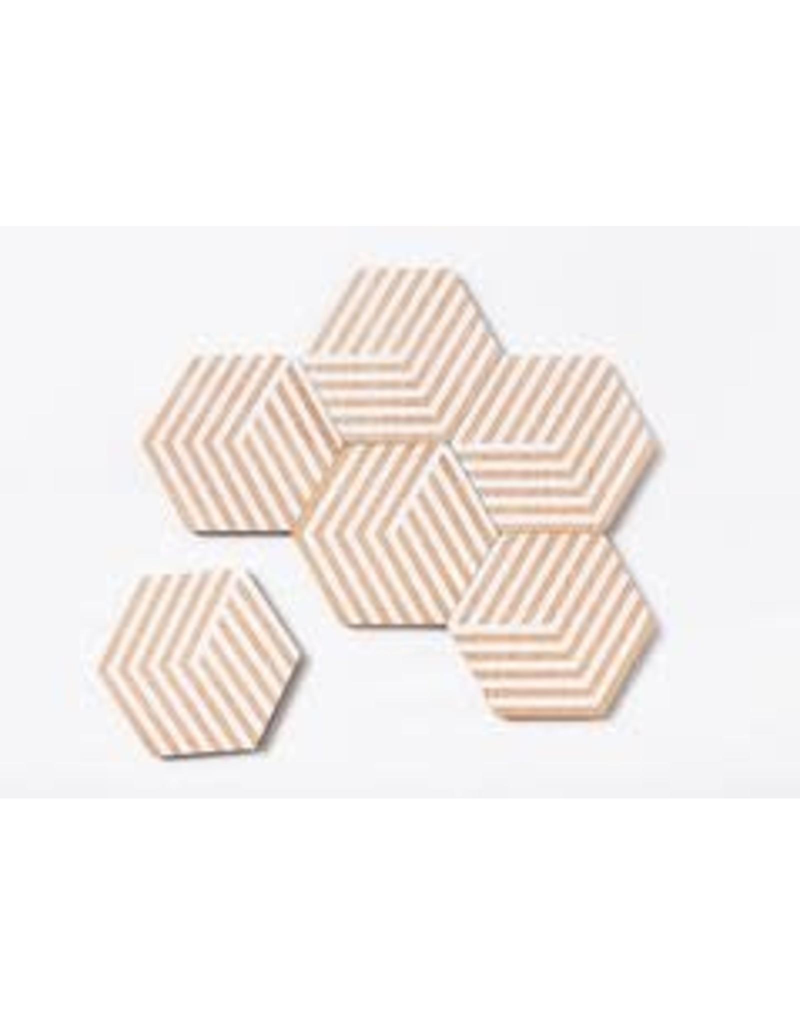 Areaware Table Tiles Optics Coasters