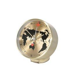 Time Concept Globe Alarm Clock