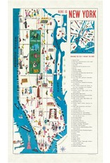 Cavallini Vintage New York Tea Towel