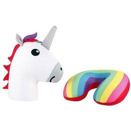 Kikkerland Unicorn Zip and Flip Pillow