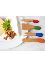 Kikkerland BAMBOO CHEESE KNIVES
