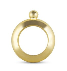 Blush Gold Bracelet Flask by Blush