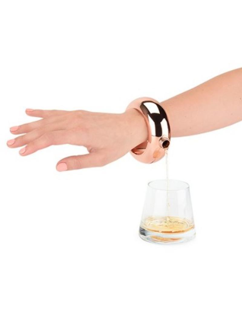 Blush Gold Bracelet Flask by Blush