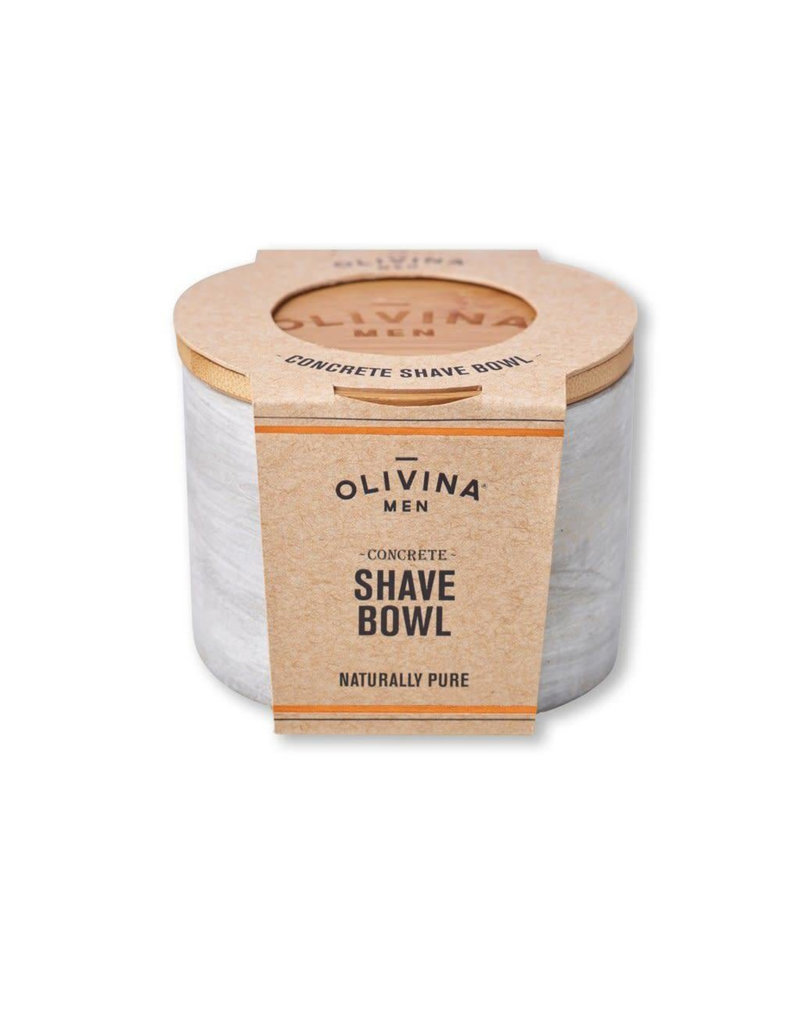 Olivina Men Concrete Shave Bowl