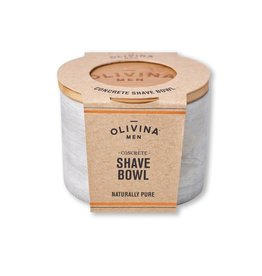 Olivina Men Concrete Shave Bowl