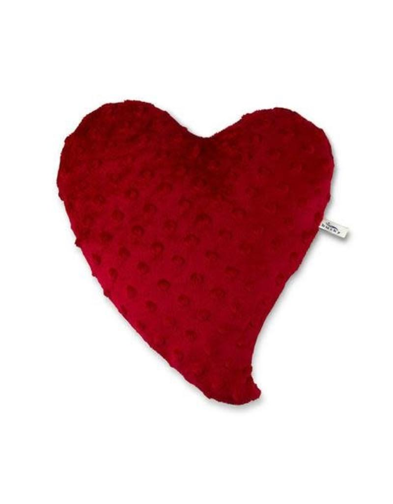 Heart Warmer Pillow Red Small