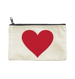 Seltzer Big Red Heart Pouch