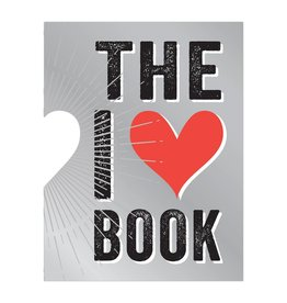 Knock Knock I Heart Book (die cut)