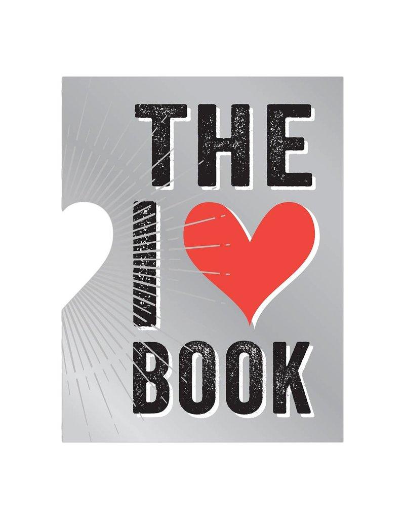 Knock Knock I Heart Book (die cut)