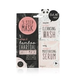 Oh! K Oh K! 3-Step Charcoal Mask