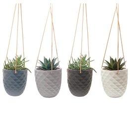 Chive Modern Ceramic  Hanging Planter