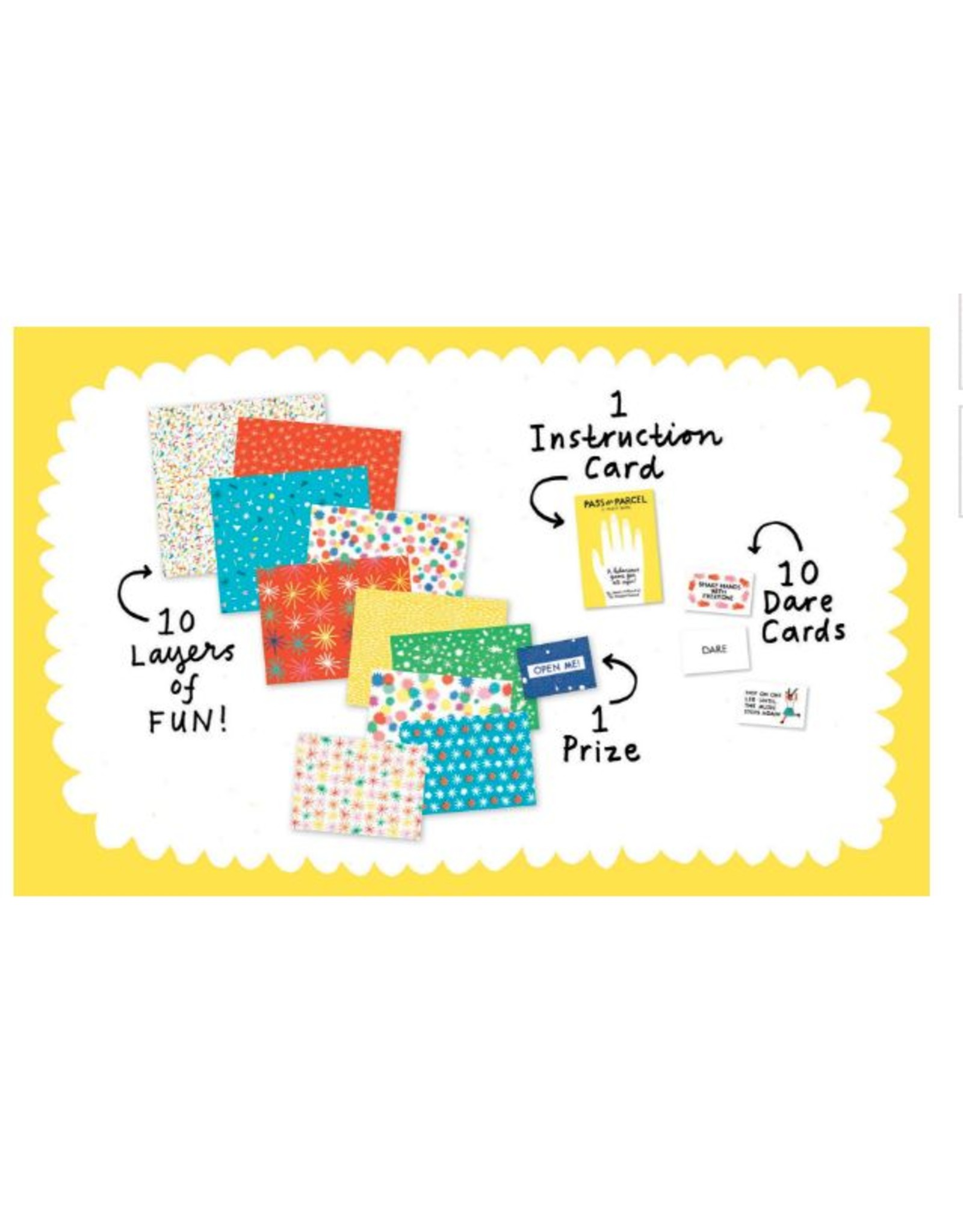 Exit9 Gift Emporium Camp Care Package - Fun & Games