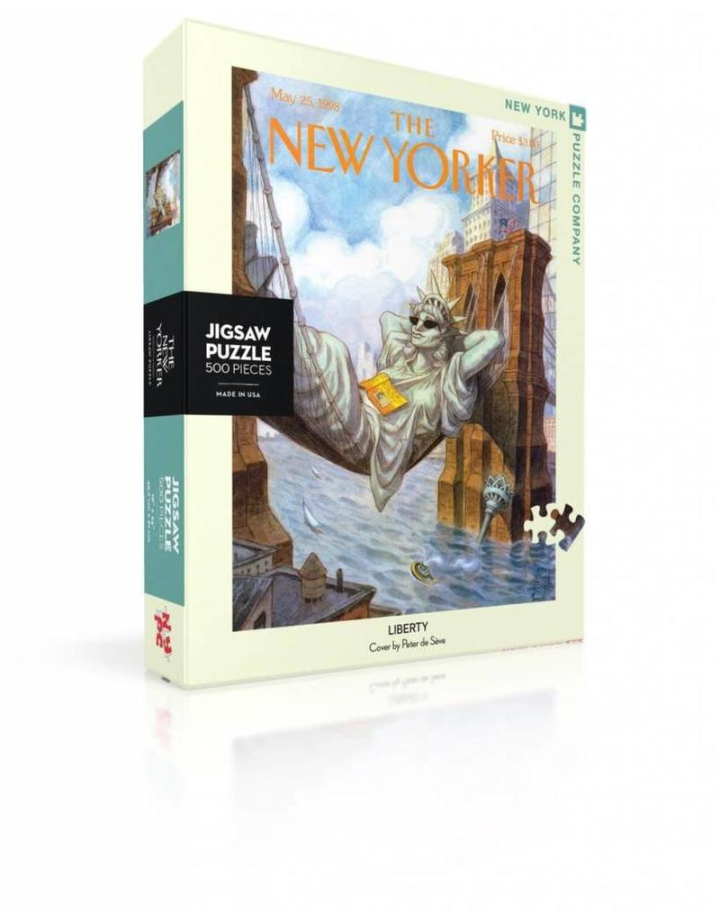 New York Puzzle Company Lady Liberty Puzzle