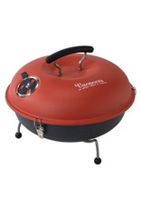 Time Concept Mini Grill and Smoker in Red