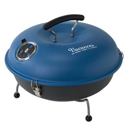 Time Concept Mini Grill and Smoker in Blue