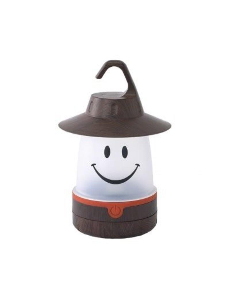 Smile Lantern in Brown