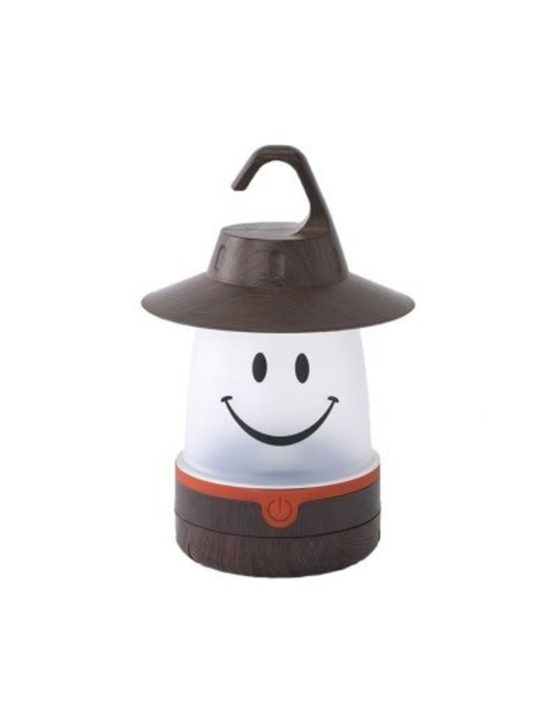 Time Concept Smile Lantern in Brown
