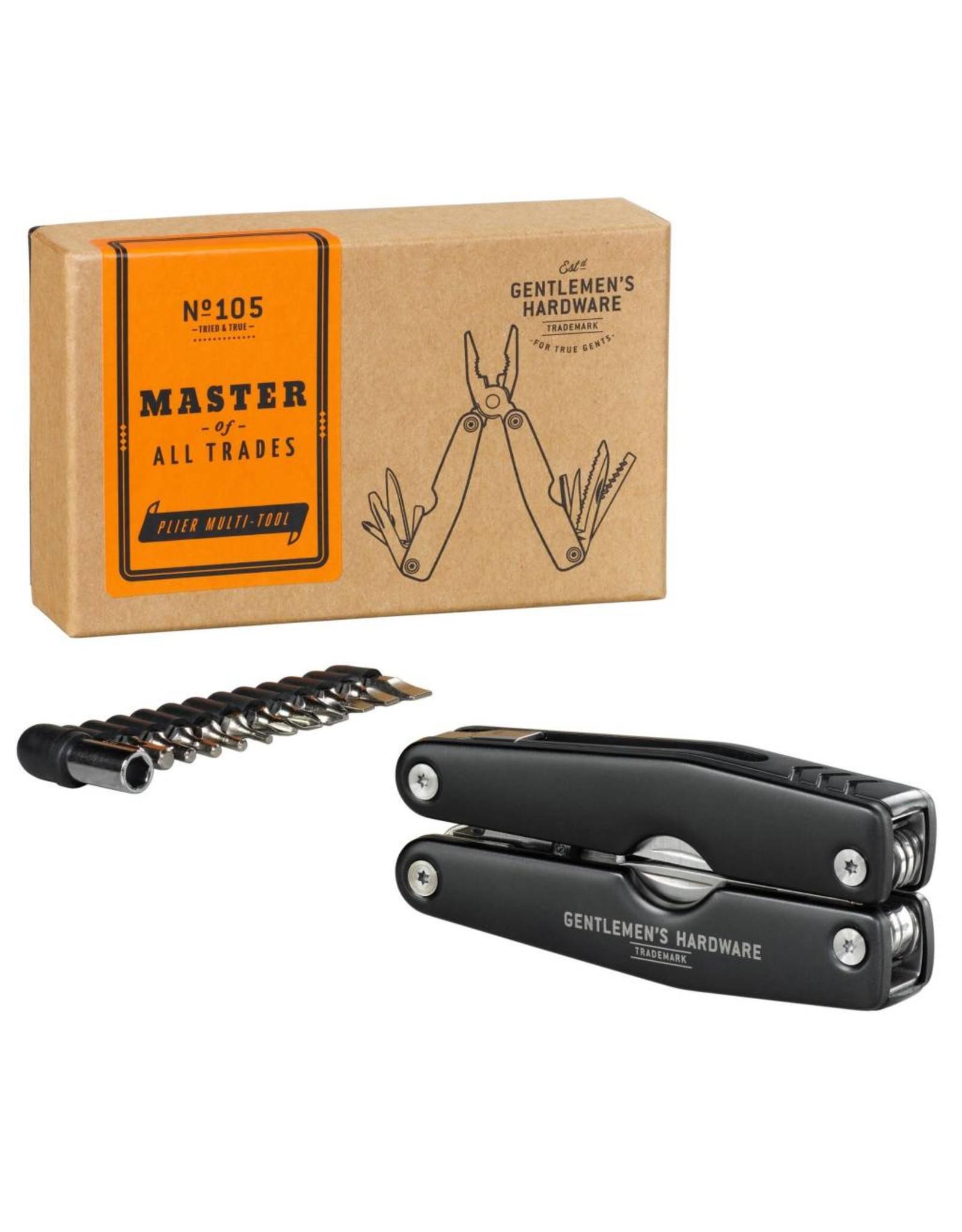 Gentleman's Hardware Plier & Screwdriver Multi Tool
