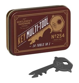 Gentleman's Hardware Key Shaped Multi Tool