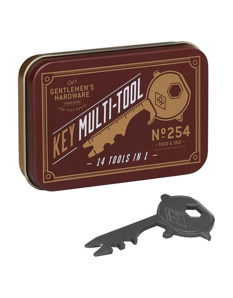 Gentleman's Hardware Key Shaped Multi Tool