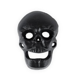 True Fabrications Wall Mounted Skull Bottle Opener