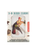 Kikkerland 3D Bird Playing Cards