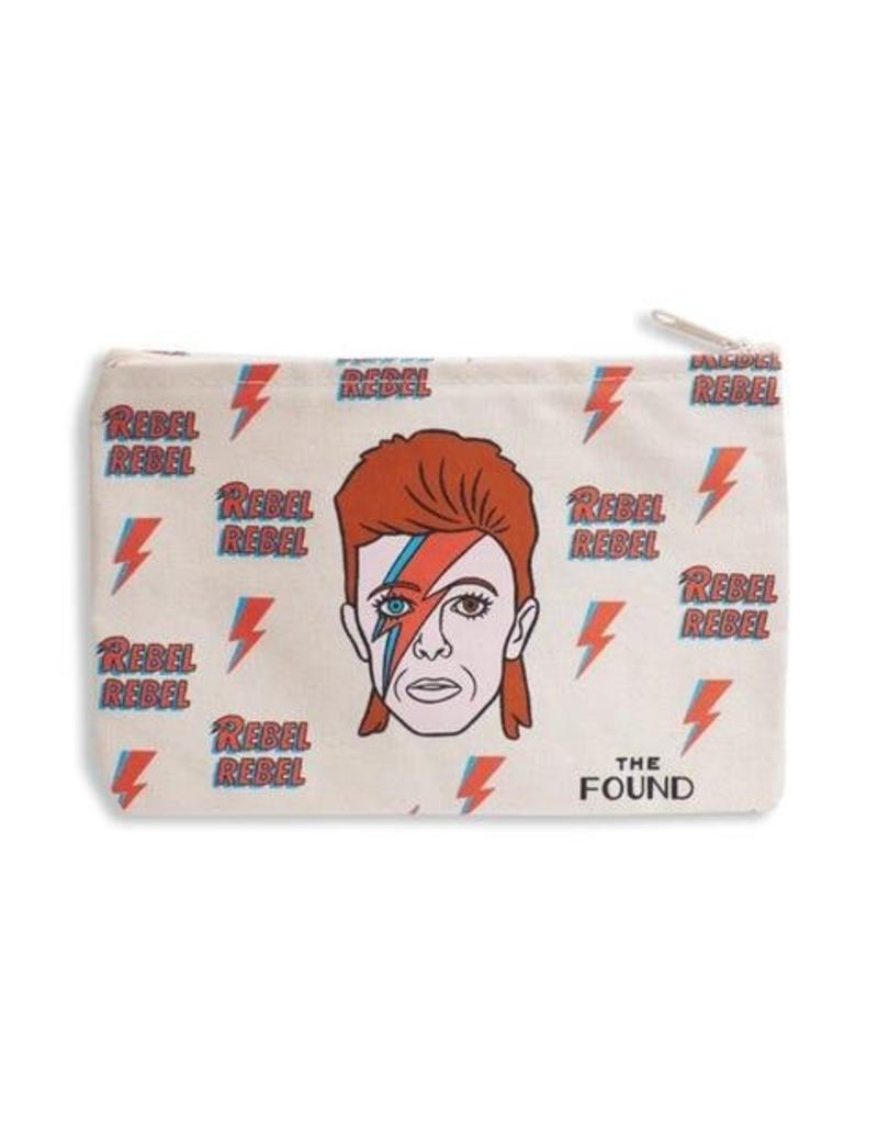 The Found Bowie Zipper Pouch