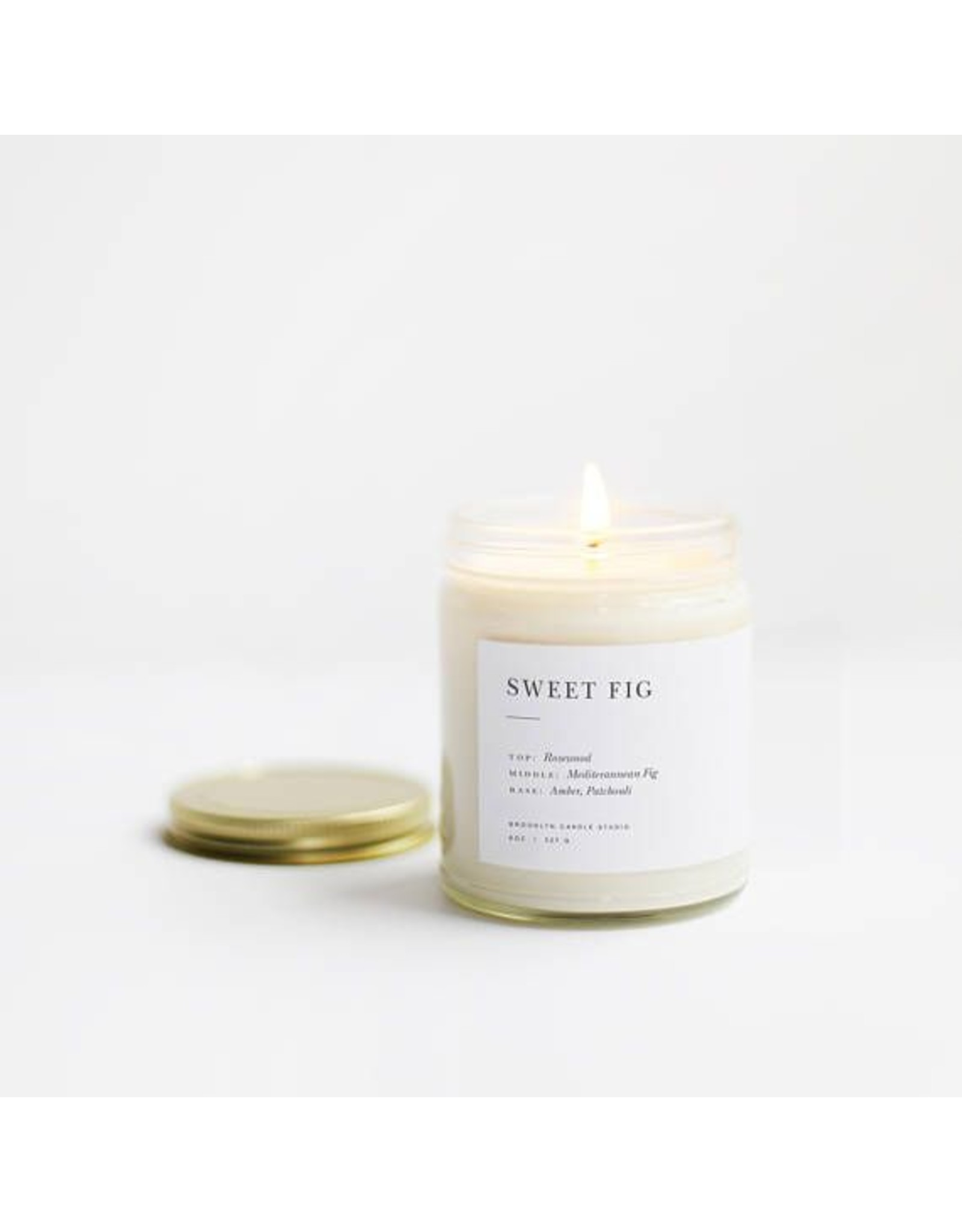 Brooklyn Candle Studio Sweet Fig Minimalist Candle