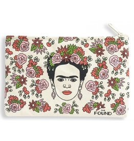 The Found Frida Zipper Pouch